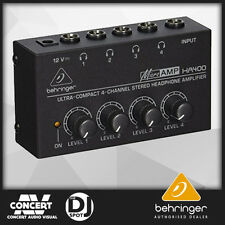 Behringer Microamp HA400 Ultra Compact 4 Channel Stereo Headphone Amplifier