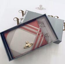 Vivienne Westwood Derby Card Holder- Red / White