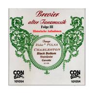CD-  Brevier Alter Tanzmusik Folge III