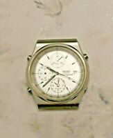 Seiko 7T32-7A20 Stainless Steel Chronograph/Alarm Men's Watch (NOT WORKING)