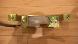 "Ford Mustang Shelby 65 66 1965-1966 OEM license plate light assembly ""restored"""
