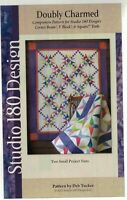 NEW UNCUT DOUBLY CHARMED BY DEB TUCKER QUILT PATTERN SEWING MAKES 2 PROJECTS