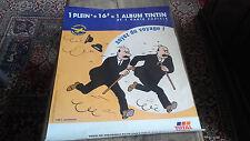 Dupont et Dupond   affiche publicitaire total 80 X 60 cm  année  2000 Tintin