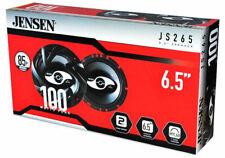 New Jensen JS265 JS Series 6.5 Inch 2-Way Car Audio Door Coaxial Speakers