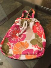 Clinique Beach Bag Tote Bag Rope Tie