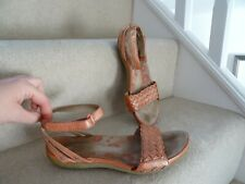 Next femme Burnt Orange Noeud Espadrille Compensé Sandales Taille UK 5//EU 38