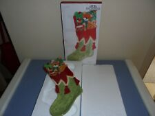 Fitz And Floyd Snack Stocking Tray In Original Box