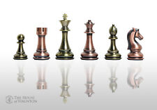 """The Candidates Series Chess Set - Pieces Only - 4.25"""" King - Metallic"""