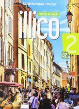 ILLICO 2 A2 ALUMNO+DVDROM. NUEVO. Nacional URGENTE/Internac. económico. METODO I