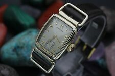 Vintage HAMILTON 980 Skeleton Lugs 10K Gold Filled 25x52mm Drivers Watch