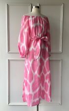 | COUNTRY ROAD | off shoulder print ramie dress pink | NEW | $199 | SIZE: 8,16 |