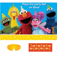 Sesame Street Stars Birthday Party Game for 2-8 Players
