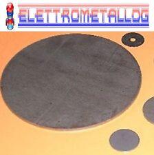 Disco, lamiera tonda in ferro liscio diversi diametri e spessori