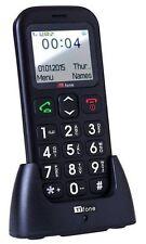 Téléphones mobiles noires simples quadri-bande