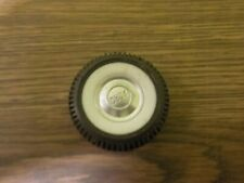 """Original white wall tire with Ford hub caps for Nylint Ford Bronco 1 3//4/"""" dia"""