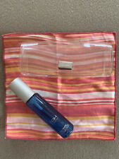 VINTAGE SUNGLASS HUT  Basic Care Kit Cleaner Cloth & Box; Striped cloth