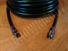 75 ft RG6 QUAD-SHIELD coaxial cable SOLID COPPER 3GHz HD Internet Best quality