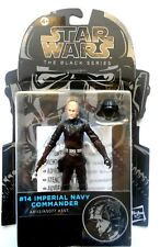 STAR WARS THE BLACK SERIES Imperial Navy Commander Figura  #14