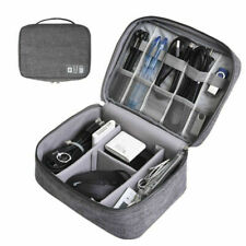 Electronic Accessories Gadget Organizer Bag USB Cable Phone Travel Storage Case