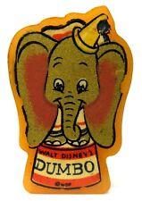1941 DUMBO figural yellow Bakelite decal PENCIL SHARPENER *