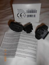 New never used Blackberry International Travel Charger Micro-USB Black Lot Of 3