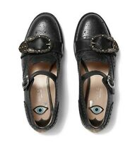 Gucci Shoes Queercore Lifford Brogue Monk Embroidered Bee Tiger Size 5