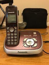 Panasonic KX-TG3683 Black Cordless Telephone w/3 Handsets & Answering Machine