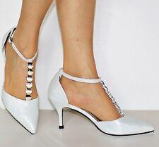 Zapatos de tacón de mujer con tira tobillo para fiesta baile noche