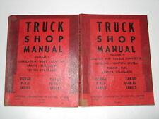60-62 Dodge Fargo 100 200 300 400 500 Shop Manual Set 2-Volumes USED
