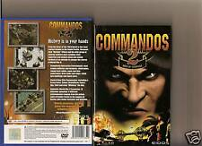 COMMANDOS 2 MEN OF COURAGE PLAYSTATION 2 PS2 WAR PS 2