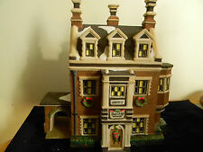 Dept 56 Dickens Village- Dursley Manor- #58329
