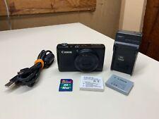 Cámara Digital Canon PowerShot S95 10.0MP H Negro Con Tarjeta Sd + Cargador Y Batería