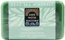 Dead Sea Mineral Bar Soap, One With Nature, 7 oz Hemp
