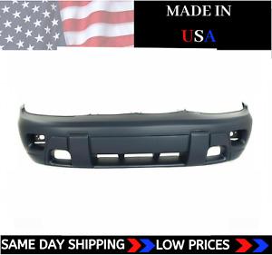 NEW Primed Front Bumper Cover For 2002-2005 Chevrolet Trailblazer SHIPS TODAY