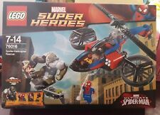 LEGO MARVEL SUPER HEROES 76016 SPIDER-HELICOPTER RESCUE
