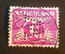 nvph 171 met perfin W en kortebalkstempel Wormerveer 3 (3058-ZZ)