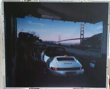 Original Porsche Poster von IAA Carrera 2
