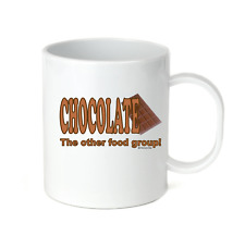 Coffee Cup Mug Travel 11 15 oz Chocolate The Other Food Group Funny