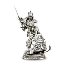 8 oz Silver Antique Statue - Frank Frazetta (Silver Warrior) - SKU #97338