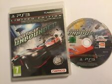 PS3 PLAYSTATION 3 RACE RACING GAME RIDGE RACER UNBOUNDED BOXED PAL TESTED & GWO