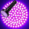 UV Flashlight 100 LEDs 395 nm LED Torch Back Detector Light Waterproof IPX4 FR