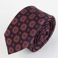 BLICK 100% Seiden Krawatte Tie Cravate 101