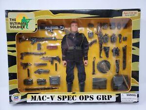 The Ultimate Soldier MAC-V SOG SPEC OPS Set 1998 NEW Sealed Box