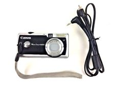 Canon PowerShot A400 3.2MP Digital Camera - Silver and Black photo picture
