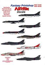 Airfile Decals 1/72 HAWKER HUNTER FIGHTERS IN ROYAL NAVY SERVICE