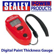 Sealey TA091-Taller Pintura Grueso Calibre Digital Tester// herramienta de diagnóstico