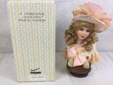 Seymour Mann Romantic Musical Porcelain Bust Figurine Connoisseur Collection