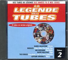 LA LEGENDE DES TUBES - COMPILATION CD - VOLUME 2 [2103]