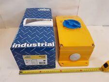 Wilco WMS3100 Switch 415V 50Hz 100A 37kW 3-Pole Metalclad Aluminium Rowco - New
