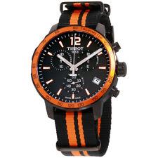 Tissot Quickster Black Dial Nylon Strap Men's Watch T0954173705700
